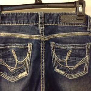 ROCK&ROLLCowgirl sz 25/34 white washed jeans